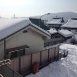 大雪後の写真